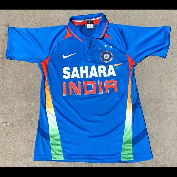 Nike Sahara India Cricket Jersey Polo Shirt